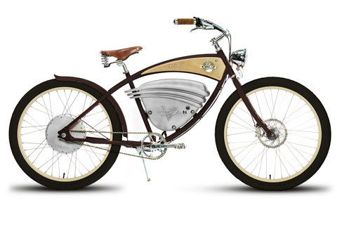 Best electric bikes: Cruz by Vintage Electric side view
