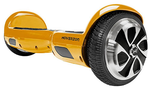 best hoverboards - Hoverzon Hoverboard Type S in yellow