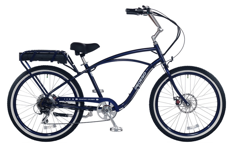 Best electric bikes: Pedego side view